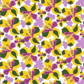 Peruvian Lily Yellow_Miss Chiff Designs