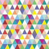 Rainbow Triangles - mini size