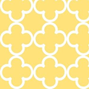 yellow lattice