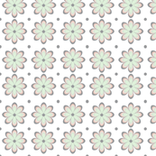 Small Pastel Flowers