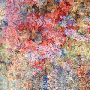 Abstract summer Garden-Bright