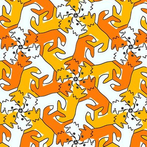 Tessellating Fox Cubs