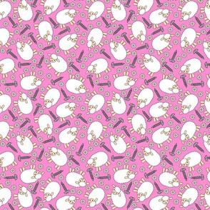 Screws and Ewes- pink medium