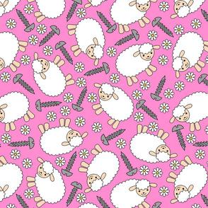 Screws and Ewes- pink large