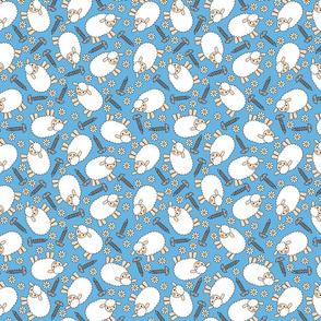 Screws and Ewes- blue medium