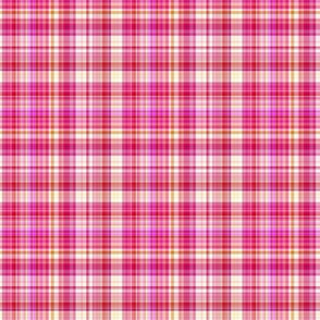 STRAWBERRY CHANTILLY BISCUIT PLAID