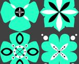 Rrrflower_squares_4_green_thumb