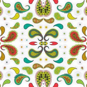 Paisley I, mirrored and Trippy