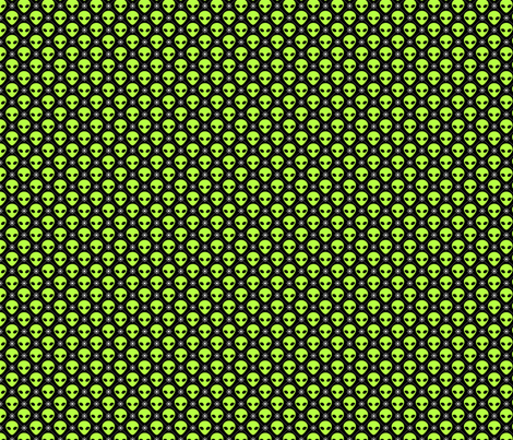 Alien star small wallpaper shala spoonflower for Alien fabric