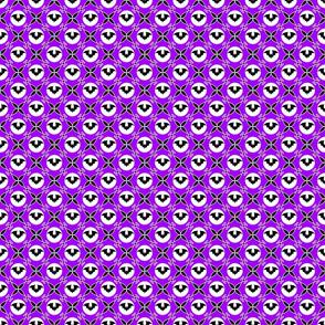 Bats on purple