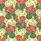 Tessellating Roosters