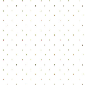 Veggie Polka Dots