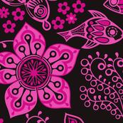 Purple Fantasy Doodles