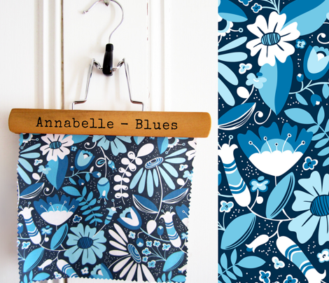 Annabelle Blues Floral