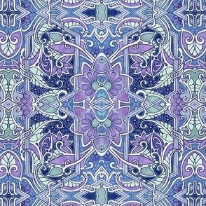 Purple Paisley Blues (and Greens)
