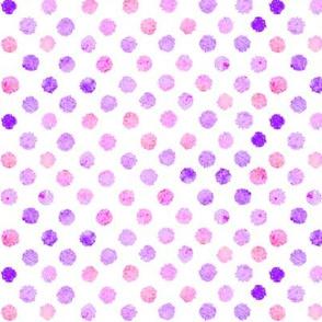 Watercolor dot pattern