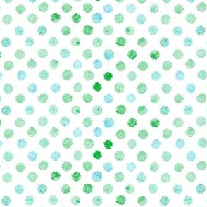 Watercolor dot pattern