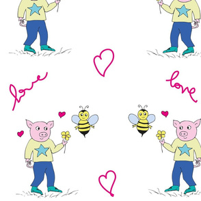 pigs_bees