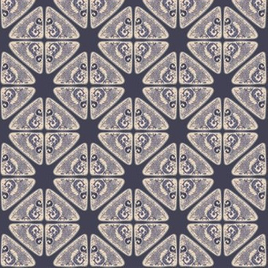 Blue grey tile