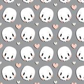 Skulls in love