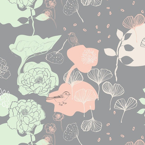 Chinoiserie Chic Peach