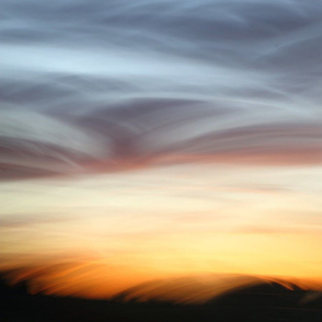 Sky Mountains at Dawn