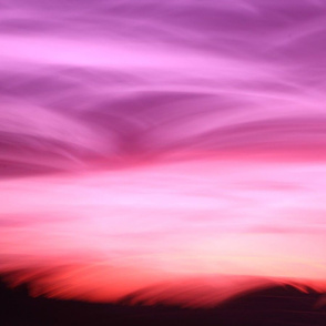 Sky Mountains in the Pink