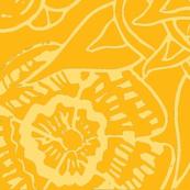 Mandala Love Gold Yellows