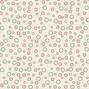 Polka Dots On Cream