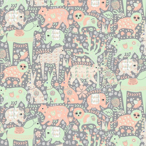 Cucumber Gray Forest