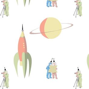 1940s Space Adventurers