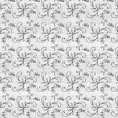 gray floral on texture