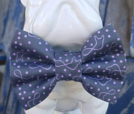 Frenchies Forever Grey Lavender Small