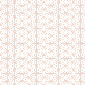 Origami Style - Peach Hex