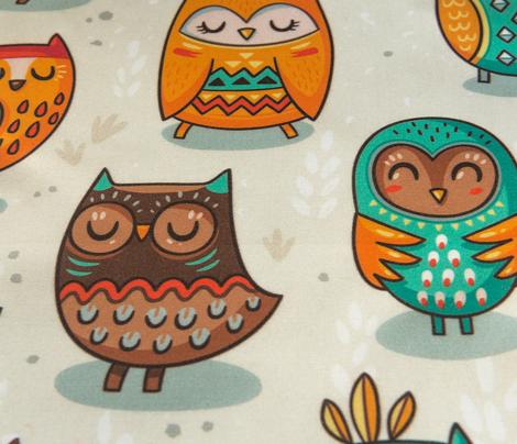 tribal owls