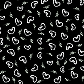 My Heart is Falling For You - The Wedding Edition in black