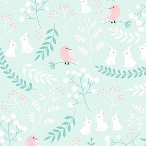 Rabbits and Birds