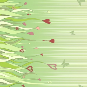 031 Fields of love border print