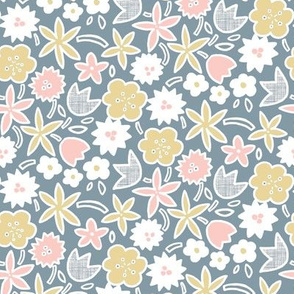 Sweet Blossom (Dusty Blue)