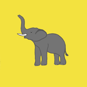 Elephants like Mustard