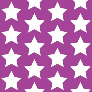 white star on purple