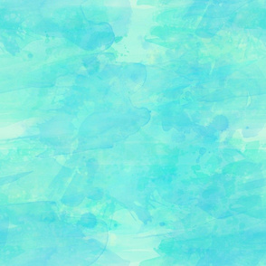 Ocean Blue Watercolor Background Effect