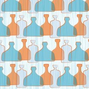 Blue Googie Bottles