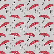 Love Umbrellas in the Rain