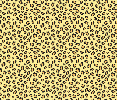 Leopard animal print fabric terriaw spoonflower for Designer animal print fabric
