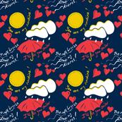 His Valentine Sky