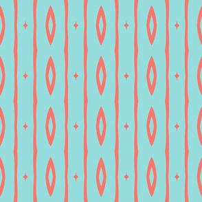 Retro Colors Vertical Stripe 1