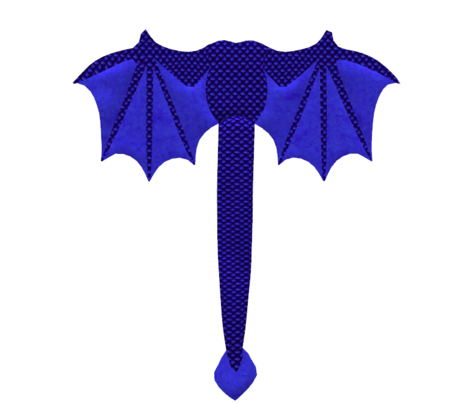 Cobalt Blue Dragon