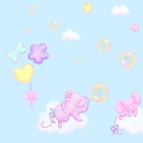 Bubble Balloon Sky