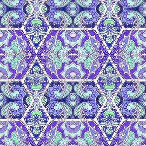 Do the Art Nouveau Infected Paisley Floral Twist